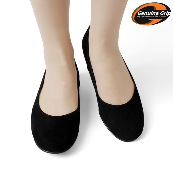 Style 9160 suede flat